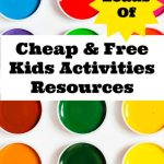 Loads of Cheap & Free Kids Activities Resources