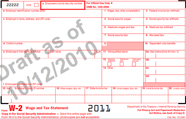 Understanding Your W2 Employer-Employee Reporting Form For