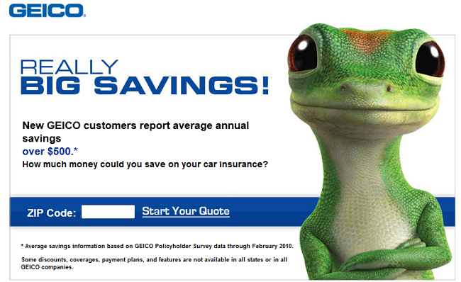 Geico Quote | Geico Quote Box Saving To Invest