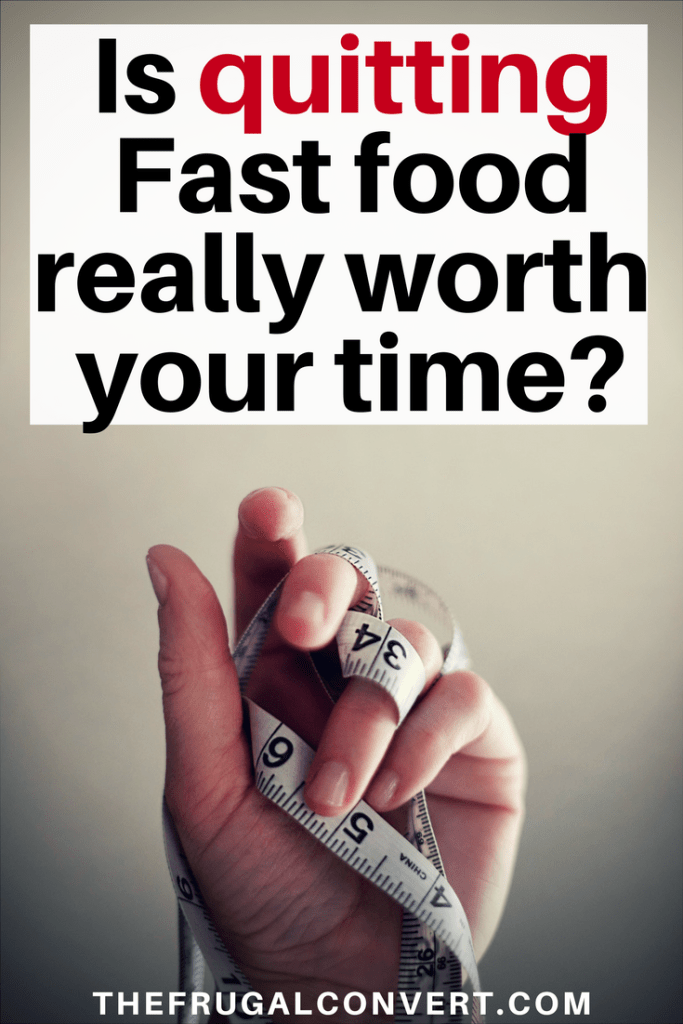 quitting fast food