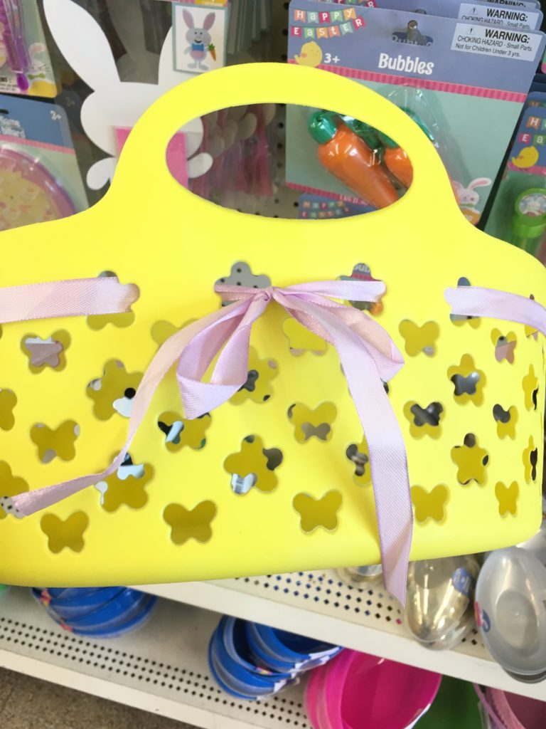 easter items at the dollar tree
