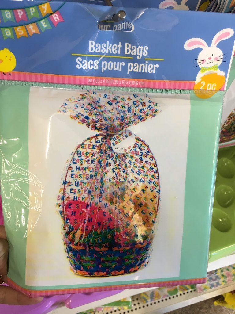 easter basket cellophane bags dollar tree