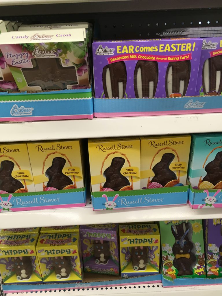 russell stover easter chocolate dollar tree