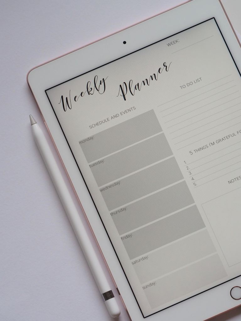 organize your to do list and schedule