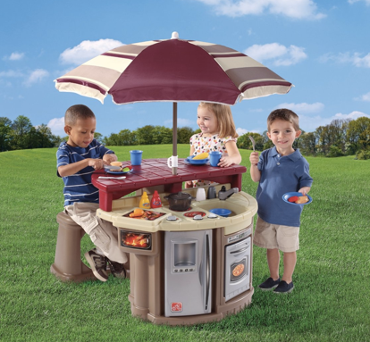 Amazon: Step2 Grill and Play Patio Cafe Only $58 13 Shipped
