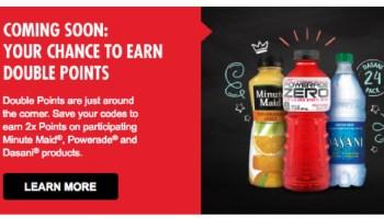 My Coke Rewards 2x Bonus Points On Powerade Saving With Candy