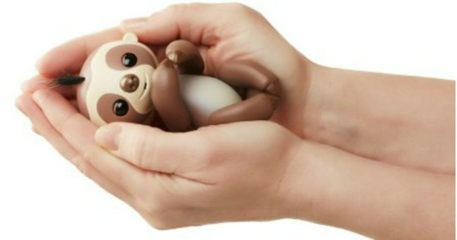 HURRY Over To Walmart Where You Can Score This RARE WowWee Kingsley Baby Sloth Fingerling In Stock And Selling For Just 1484