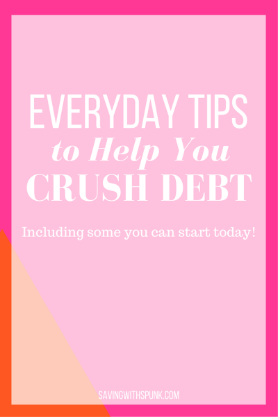 Tips to Help You Crush Debt