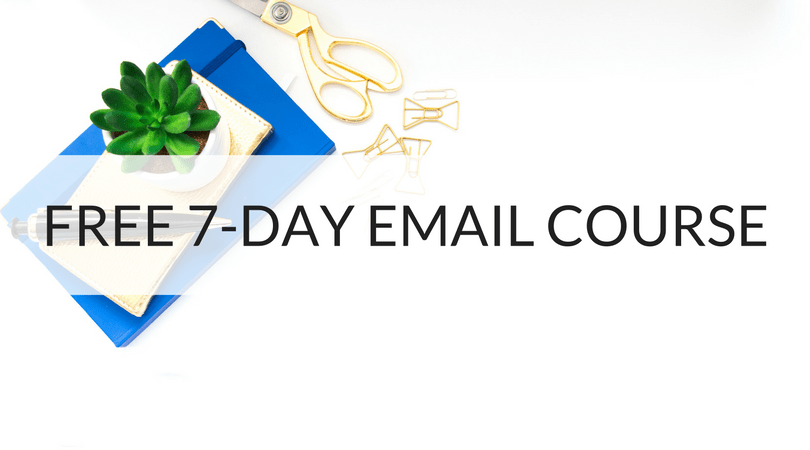 Free 7-Day Personal Finance Email Course
