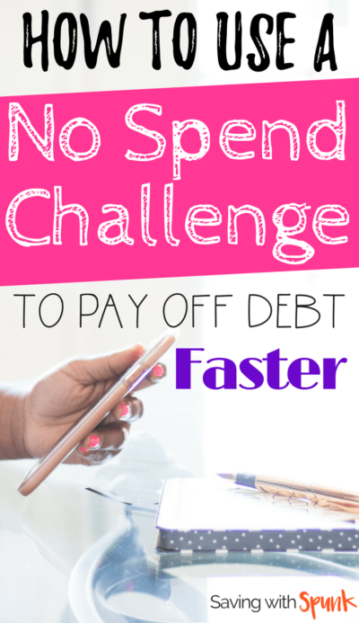 How to do a no spend challenge that won't have you binging after the week is done! Awesome tips for a no spend month or no spend weekend!