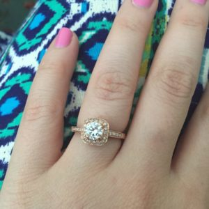 I Picked Out My Own Engagement Ring at a Pawn Shop Saving with Spunk