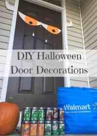 Diy Halloween Door Decorations - Bestsciaticatreatments.com