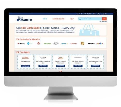 Get 10% Cash Back When You Shop Online With ShopSmarter.com