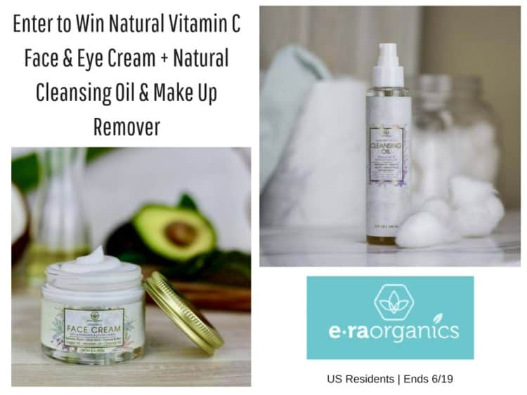 Natural Vitamin C Face & Eye Package Giveaway