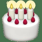Smiley Gâteau d'Anniversaire - Snapchat