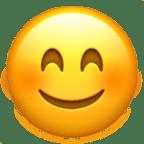 Smiley rougit - Snapchat