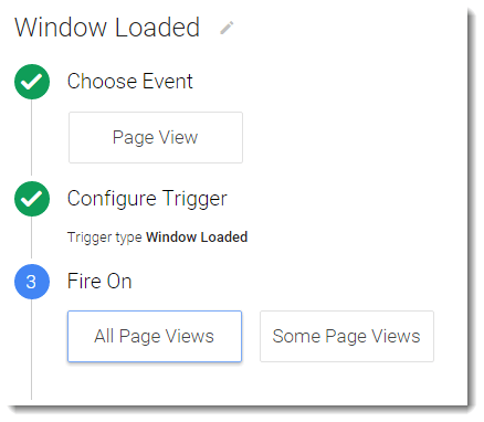 Google Tag Manager - Window Loaded