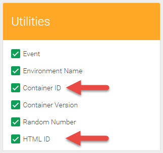 GTM Variables - Utilities