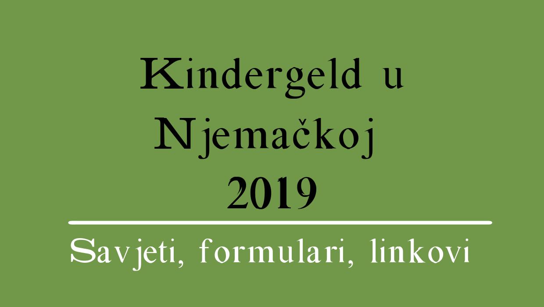 Kindergeld u Njemačkoj 2019 (sve informacije)
