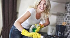 Kako očistiti kuhinju u 15 minuta