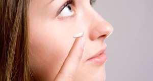 nošenje kontaktnih leća