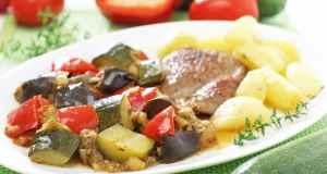 pirjano povrće