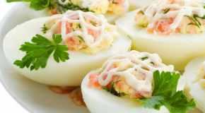 Hladna predjela od jaja