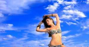 šareni kupaći kostim