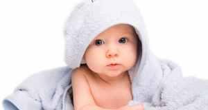 beba u ručniku
