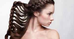 djevojka sa zanimljivom frizurom