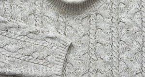 siva pletena tunika