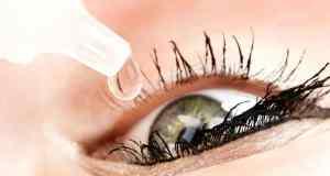 stavljanje kapi u oko