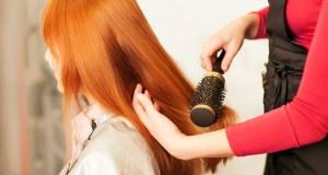 žena u frizerskom salonu