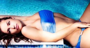 plavi kupaći kostim