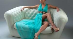 Haljina tirkizne boje
