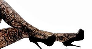 čipkaste čarape
