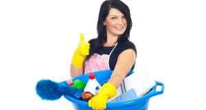 lavor sa sredstvima za čišćenje