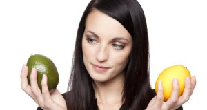 voće u ruci