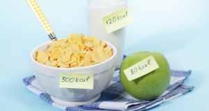 jabuka žitarice i mlijeko