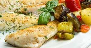 riba s povrćem