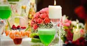 stol na vjenčanju