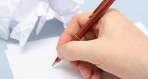 pisanje po papiru