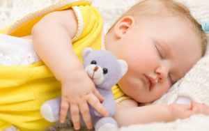 spavanje bebe