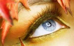 velike oči
