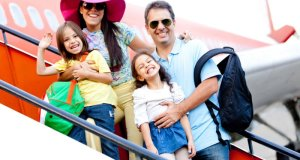 obitelj na odmoru