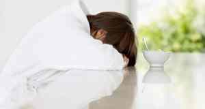 umorna žena