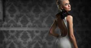 Mala crna i bijela haljina