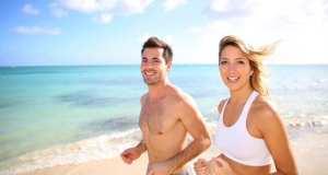 vježbanje na plaži
