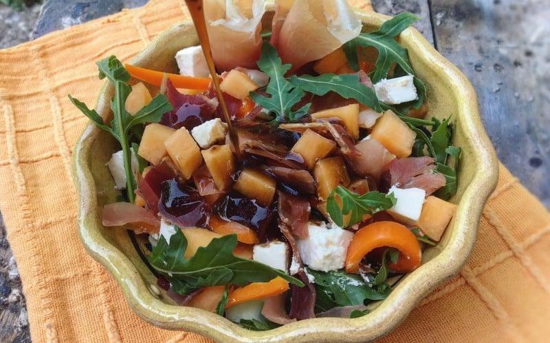 salata od dinje