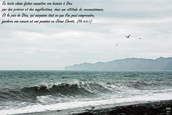 Qu'entendons-nous par «croire» ? Philippiens 4.4-7
